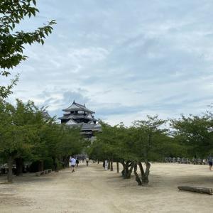 昨日は松山城ラン。