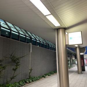 昨日は松山空港まで夜ラン。