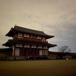 奈良で朝ラン。