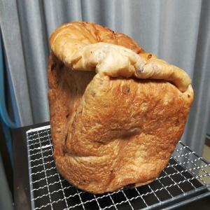 レーズン食パンの仕上がりは