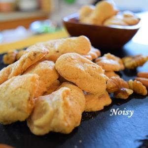 【勝手にペコリお別れ祭】卵白ナッツクッキー