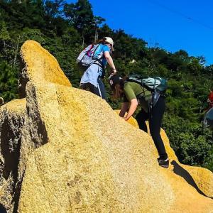 晴天の万物相でのんびり~辰巳茶房ハイキング
