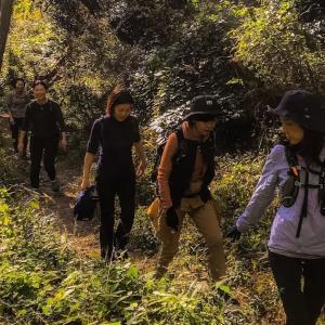 森の中でコーヒータイム~毎日登山~