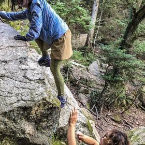 深い森の中でトレーニング~毎日登山〜