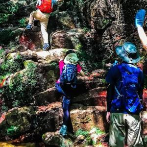 地獄谷で岩場のトレーニングを!~毎日登山~