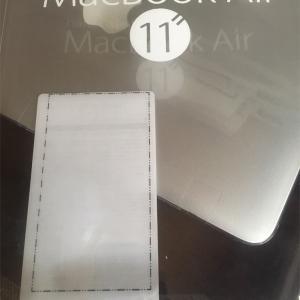 オウルテック Macbook Air 11inch向けクリアシェルケースのレビュー