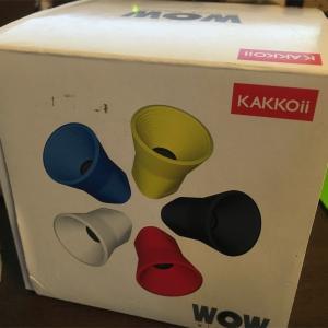 格安で買ったBluetoothスピーカー「KAKKOii WOW Wireless Speaker」レビュー