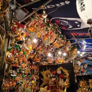 三の酉前夜祭、in 花園神社