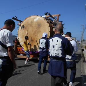 雄踏町山崎秋祭り2019