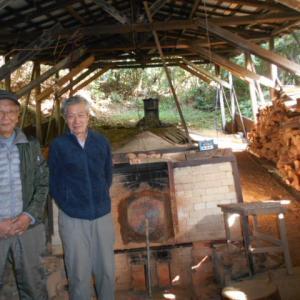 浜松で一番古い穴窯へ見学に行ってきました