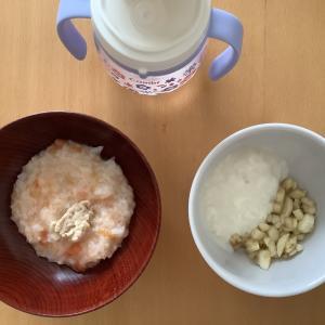 今日の離乳食(中期)