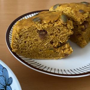 かぼちゃの蒸しケーキ♪