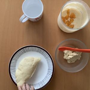 今日のお昼の離乳食