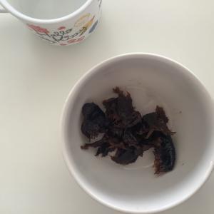 今日の朝のおやつ離乳食