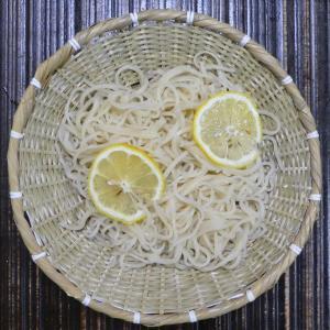 レモン切り蕎麦