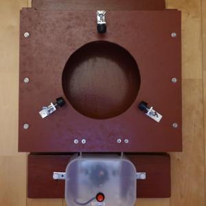 Fさんから手製の電動篩機