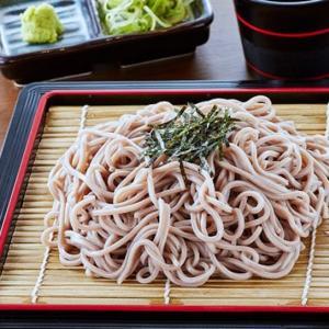 日本初のざる蕎麦