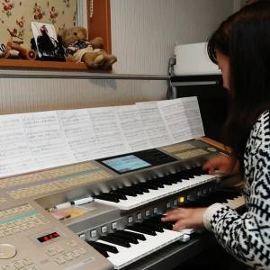 私たち仕上げは自分でできます〈袖ケ浦市 ピアノ エレクトーン くらの音楽教室〉