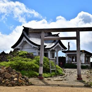 東北ツーリング(3) <蔵王>刈田岳(かつただけ)山頂~刈田嶺(かったみね)神社