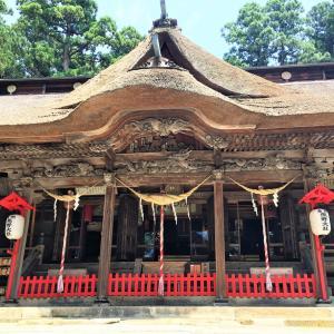 東北ツーリング(8) <山形ラスト>1200年の歴史「熊野大社」と「神社カフェ」。