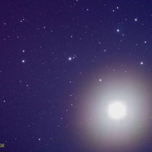金星と昴が大接近 4/04