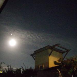 月が木星の