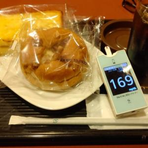 今日は昼カフェ。昨夜寝落ちで血糖値はちょっと高めだけど・・・ま、いっか
