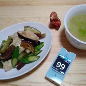 朝ごはんは和食風です。朝から運動しましたので早くもお腹が空いてきた・・・