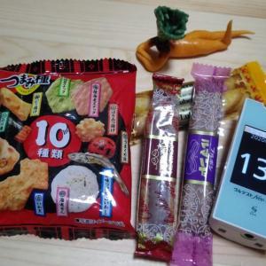 昨日のバイトで配達先のおかみさんにお菓子もらった。朝から食べてログ打ったら・・・