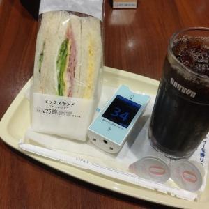 朝 何も食べてないのにヒューマログ打ちすぎる。見事な低血糖で朝カフェで無駄食いです。