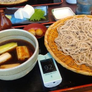 用事終了! お昼ご飯は父とお蕎麦食べました。食後はカフェでコーヒー飲んで親孝行?