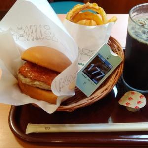 研修中お昼に食べたファストフードにハマりかけている。今日の朝カフェはしょっぱいものをご所望。