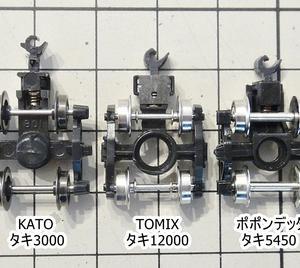 ■KATO,TOMIX,ポポンデッタの車輪の互換性に追記をup