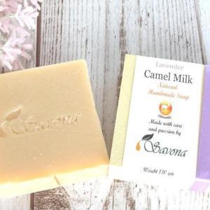 【サボナミドルイースト・キャメルソープ】ラクダのミルクの石鹸はヨーロッパや中東のセレブに人気!ノンケミカルでお肌にやさしく、いい香りの石鹸でした!(^^)!