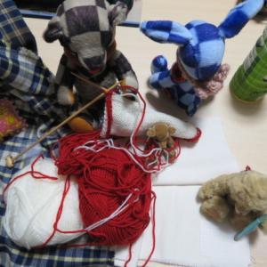 紋さんの編地