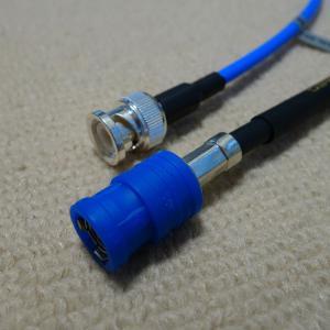 ルビジウム・クロック 10MHz 用 50Ω BNC ケーブル(2020年版)