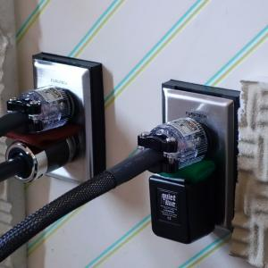 電源ケーブルの整理