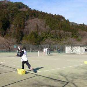 3月 テニス90分無料体験