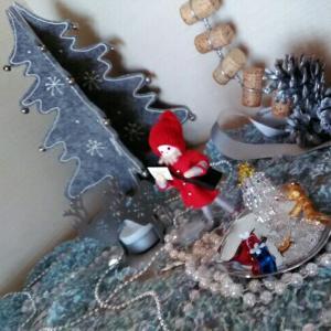 今日はクリスマスツリーの日なのね。