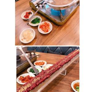 韓国旅行で、サクっとユッケ寿司