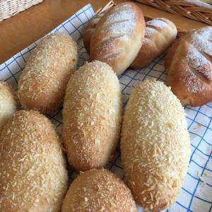 今日はパン教室でした