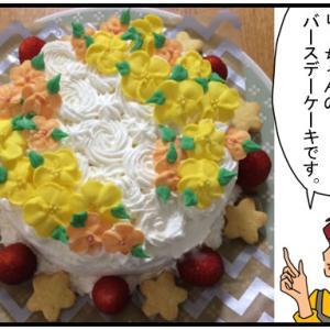 マシュマロフォンダンでバースデーケーキをデコレーションしたい!