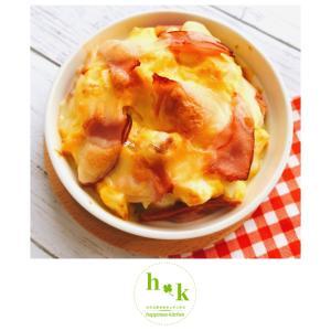 【レシピ】お豆腐のエッグ&チーズ焼き