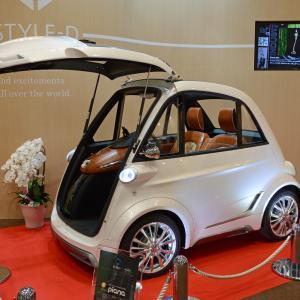 2015年の東京モーターショーに出展されたピアーナ