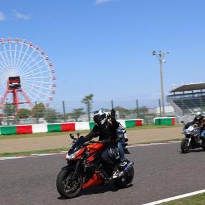 8耐の聖地 鈴鹿を走ろう!今年も開催ですよ~(^^)vと、トライアンフの戦略バイクが気になる!