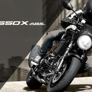 今、大人気のロッパン!スズキSV650/650X新色になって発表のお話