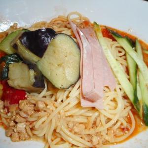 ムシムシ暑い日は冷やし担々麺スパゲティー