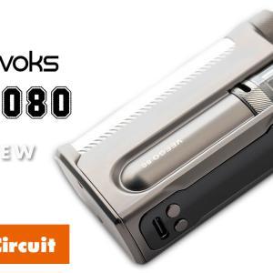 Nevoks Veego 80 レビュー|ステルスMODにもなる!個性的デザインのPOD MODデバイス!
