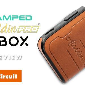 VAMPED ALADDIN PRO BBOX レビュー|マレーシアで話題沸騰!レザー使いのBOX POD!