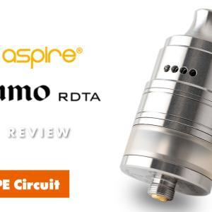 aspire Kumo RDTA レビュー 特許取得!独自のリキッド供給システム!RDL特化アトマイザー!